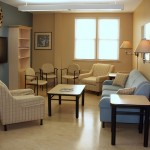 The Uxbridge Cottage Hospital Palliative Care Family Lounge after the beautiful upgrade by Lawson